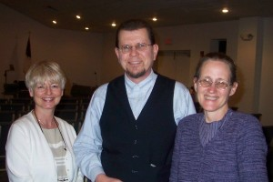 At the Discernment Conference at Spring Hill, Florida, February 2007. Speaking were Lynn and Sarah Leslie, (center and right)